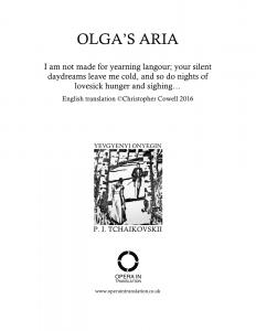 Olga's aria_cover